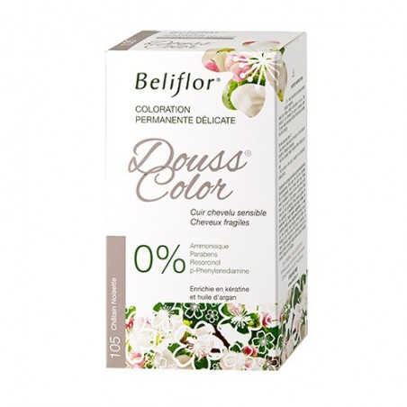 Coloration Dousscolor - Châtain Noisette n°105 -131ml