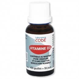 Vitamine D3 - Flacon 20ml